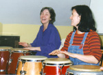 learning congas & having some fun