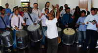 corporate drumming workshop